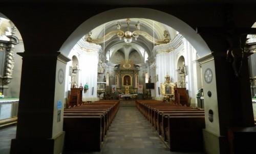 Zdjecie POLSKA / woj.małopolskie. / Muszyna. / Muszyna Kościół św. Józefa Oblubieńca - wnętrze.