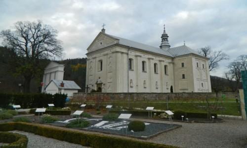 Zdjecie POLSKA / woj.małopolskie. / Muszyna. / Muszyna - kościół z Ogrodów Biblijnych