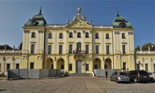Zdjęcie POLSKA / Podlasie / Białystok / Białystok, pałac Branickich XVIII w.