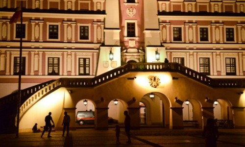 Zdjecie POLSKA / Lubelszczyzna / Zamość / Rozmowy Nocą