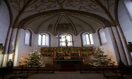 Zdjęcie POLSKA / Województwo Zachodniopomorskie / Kamień Pomorski / katedra - ołtarz