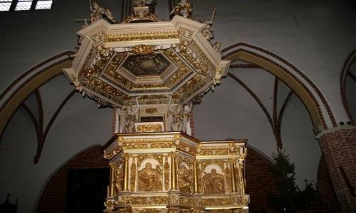 Zdjęcie POLSKA / Województwo Zachodniopomorskie / Kamień Pomorski / katedra - ambona