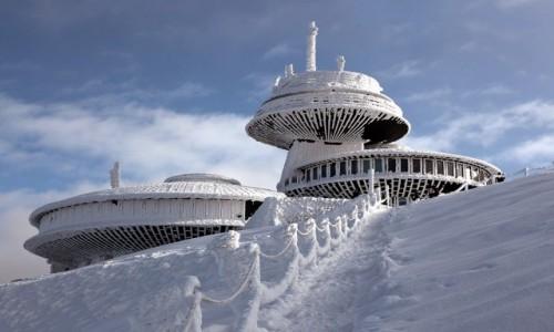 POLSKA / Karkonosze / . / UFO na Śnieżce
