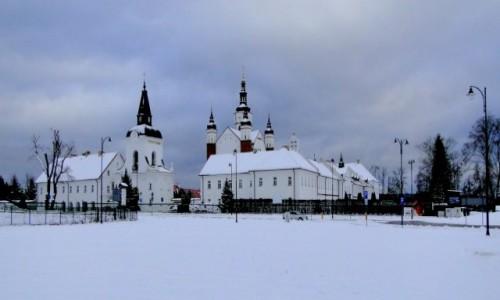 Zdjęcie POLSKA / Podlasie / Supraśl / Zima w Supraślu