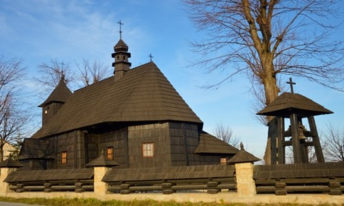 Zdjecie POLSKA / Małopolska / Rzepiennik Biskupi / Na Czarno