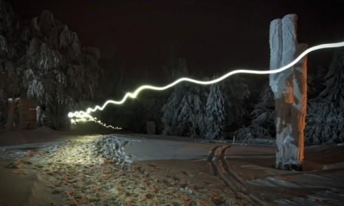 Zdjecie POLSKA / Beskid Wyspowy / Luboń Wielki / Nocni wędrowcy