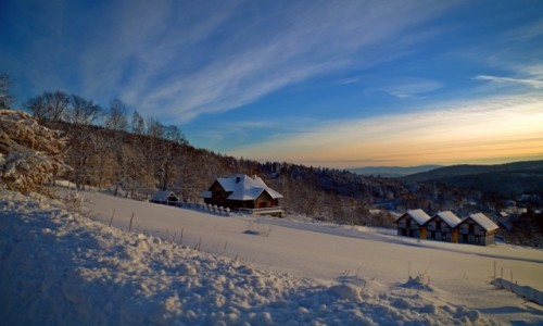 POLSKA / Dolnośląskie / Szklarska Poręba / -zimowy krajobraz-
