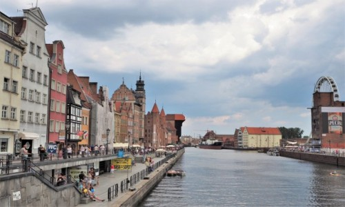 POLSKA / Pomorze / Gdańsk / dzień był taki piękny..