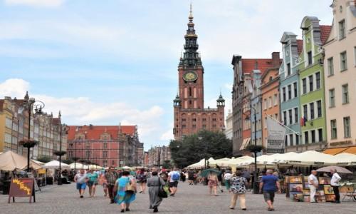 POLSKA / Pomorze / Gdańsk / dzień był taki piękny....