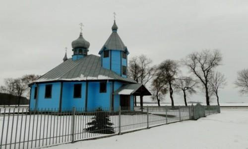 Zdjecie POLSKA / Podlasie / Szastały / Podlaska zima.