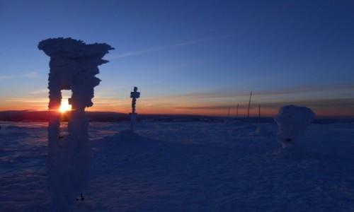 Zdjecie POLSKA / karkonosze / masyw śnieżnika / wschód na Śnieżniku