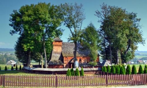 Zdjecie POLSKA / Podhale / Dębno Podhalańskie / Podhalański szlak architektury drewnianej