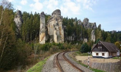 CZECHY / Kraj kralovohradecki / Dolni Adrspach / Czeskie klimaty