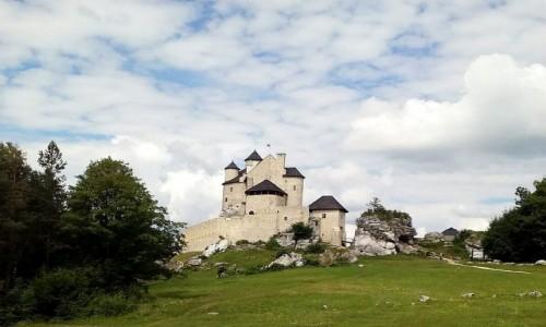 POLSKA / śląskie / Niegowa / Bobolice widok z odległości