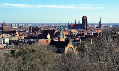 Zdjęcie POLSKA / Gdańsk  / Góra Gradowa / Gdańskie wieże
