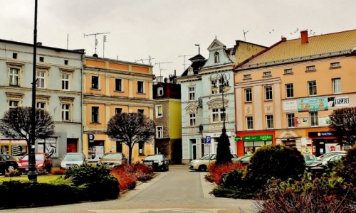 Zdjecie POLSKA / województwo opolskie / Głuchołazy / Rynek w Głuchołazach
