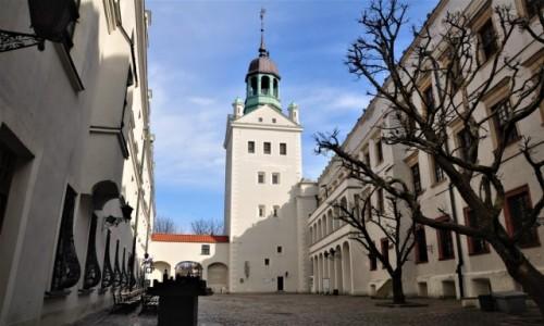 POLSKA / zachodniopomorskie / Szczecin / Wieża Zamku Książąt Pomorskich w Szczecinie