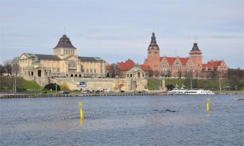 POLSKA / zachodniopomorskie / Szczecin / Wały Chrobrego w Szczecinie