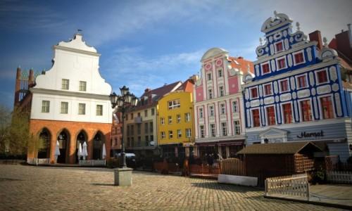 POLSKA / zachodniopomorskie / Szczecin / Rynek Sienny w Szczecinie
