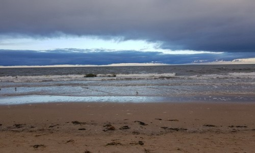Zdjecie POLSKA / Świnoujście / plaża / przed burzą