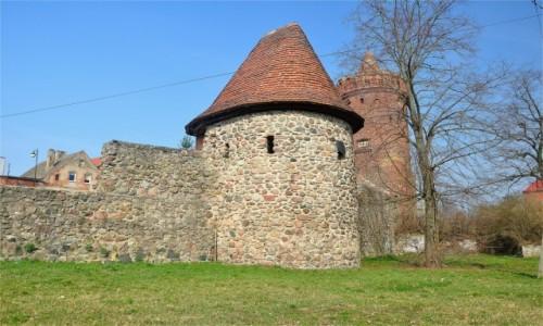 Zdjecie POLSKA / zachodniopomorskie / Recz / Czatownia, mury miejskie i Baszta Drawieńska