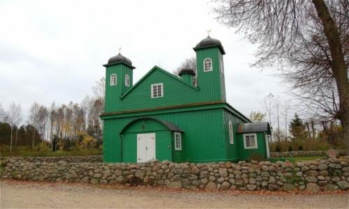 Zdjecie POLSKA / podlaskie / Kruszyniany / Kruszyniany. Drewniany meczet