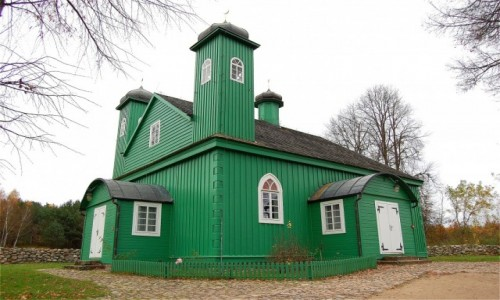 POLSKA / podlaskie / Kruszyniany / Kruszyniany. Drewniany meczet