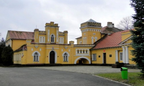 POLSKA / Lubelszczyzna / Konstantynów / Pałac w Konstantynowie
