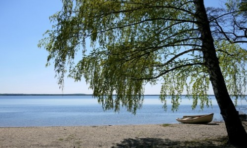 POLSKA / opolskie / Turawa / Nad jeziorem