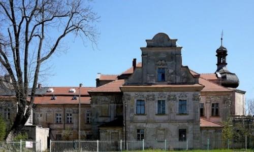 Zdjecie POLSKA / opolskie / Turawa /  Niszczejący pałac