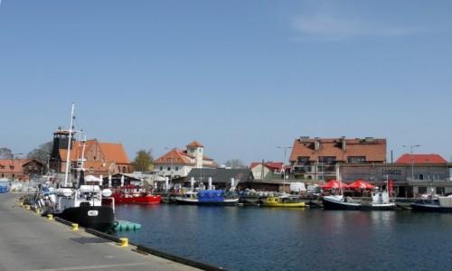 Zdjęcie POLSKA / pomorskie / Hel / Widok na miasto