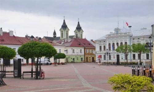 Zdjecie POLSKA / podkarpackie / Sanok / Rynek w Sanoku