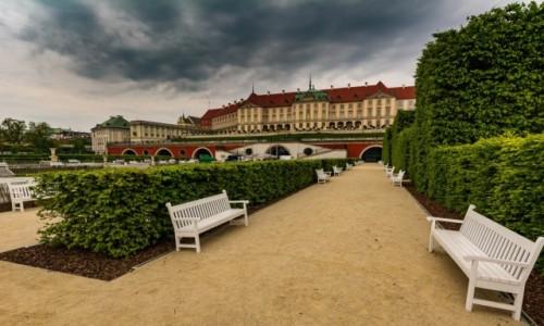 Zdjecie POLSKA / mazowsze / Warszawa / Ogród Dolny Zamku Królewskiego