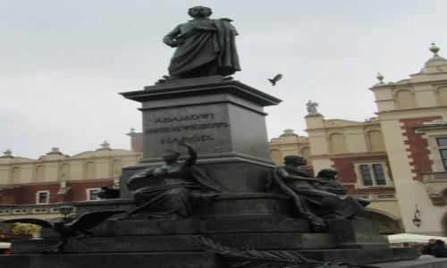 Zdjecie POLSKA / Kraków / Kraków / Adam Mickiewicz - Kraków