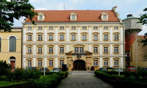 POLSKA / dolnośląskie / Oława / Fronton pałacu