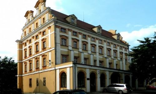Zdjecie POLSKA / dolnośląskie / Oława / Tył pałacu