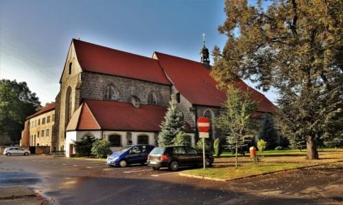 Zdjęcie POLSKA / Dolny Śląsk / Lwówek Śląski / Lwówek Śląski, kościół franciszkański