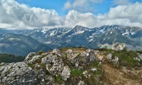Zdjecie POLSKA / Tatry / na szlaku / Tatry zachodnie