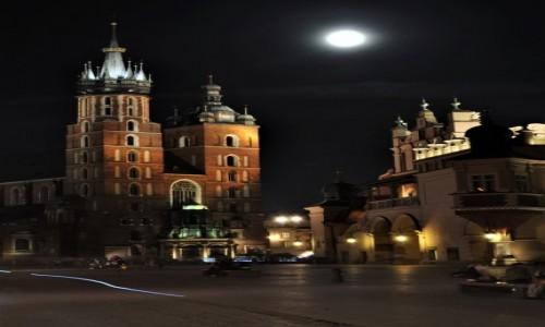 POLSKA / Małopolska / Kraków / Rynek krakowski