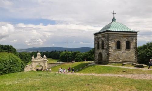 POLSKA / świętokrzyskie / Góry Świętokrzyskie / Widok z Łysej Góry