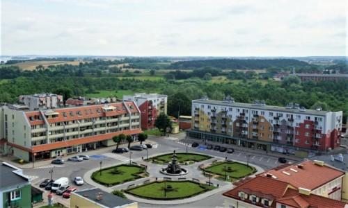 POLSKA / Pojezierze Iławskie / Prabuty / Fontanna Rolanda