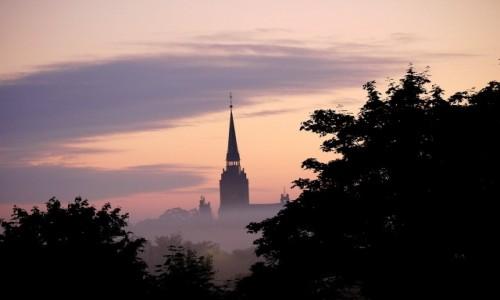 Zdjęcie POLSKA / opolskie / Opole / We mgle o świcie
