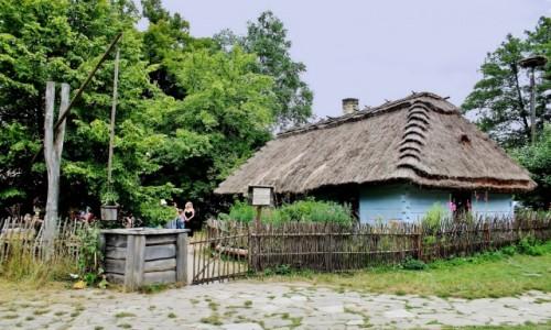 Zdjęcie POLSKA / województwo lubelskie / Guciów / Chałupa z XIX wieku
