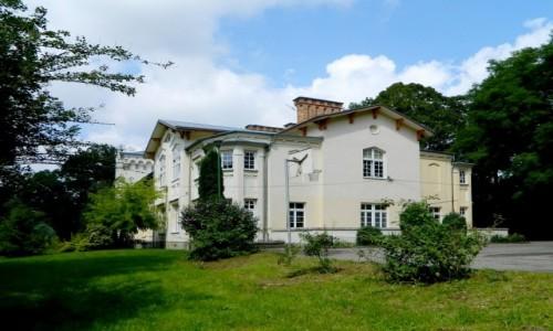 Zdjecie POLSKA / podkarpackie / Strzyżów /  Zabytkowy pałac