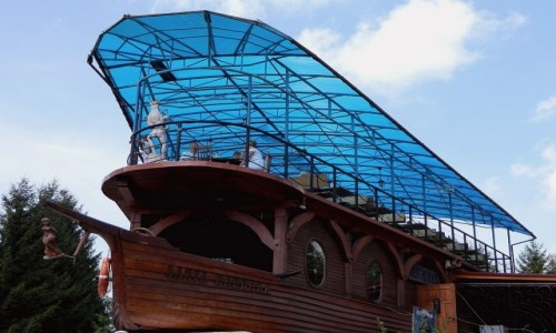 Zdjęcie POLSKA / podkarpackie / Solina / Restauracja statek