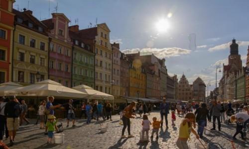 Zdjecie POLSKA / woj. dolnośląskie / Wrocław / pocztówki z Wrocławia - Na Rynku