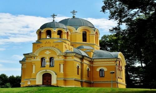 POLSKA / województwo lubelskie / Dołhobyczów / Cerkiew św.Szymona Słupnika z 1904 roku