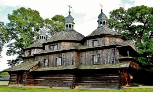 Zdjęcie POLSKA / województwo lubelskie / Chłopiatyn / Cerkiew Zesłania Ducha Świętego z 1864 roku