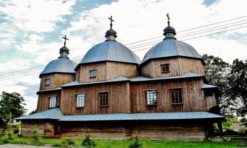 Zdjęcie POLSKA / województwo lubelskie / Budynin / Cerkiew Niepokolanego Poczęcia NMP z 1887 roku