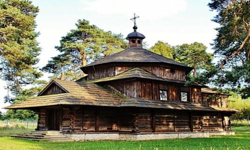 Zdjecie POLSKA / województwo lubelskie / Bełżec / Cerkiew św.Bazylego z 1756 roku